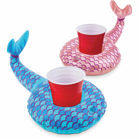 BIG MOUTH Mermaid Tails BEVERAGE BOAT 2PK