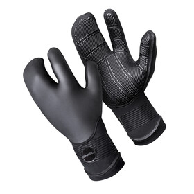 O Neill Psycho Tech 5mm Lobster Gloves 002 BLACK FA 18