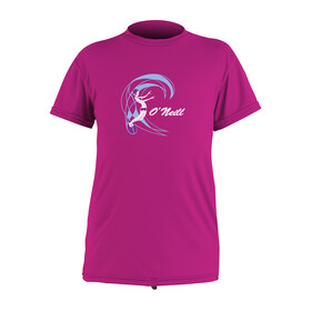 ONEILL Wetsuits Toddler OZone S/S Sun Shirt - Girls BERRY...